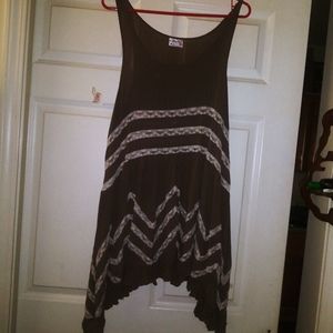 Fp viole and lace slip dress